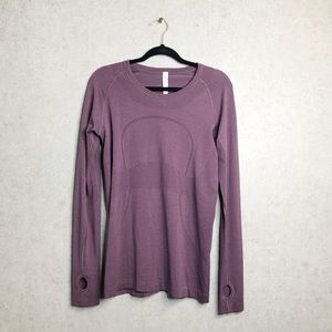 Lululemon | Purple Swiftly Tech Long Sleeve